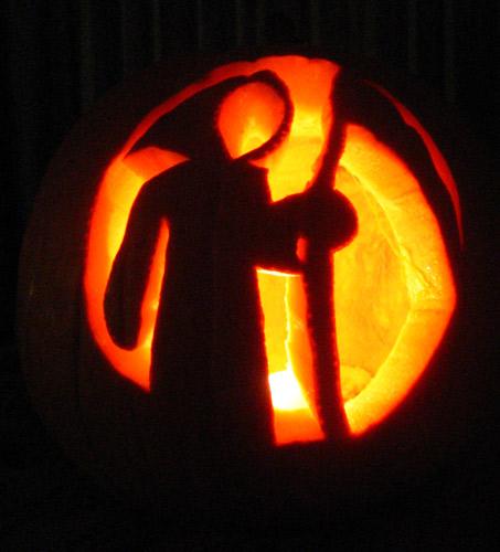 Day pumpkin carving b movie star