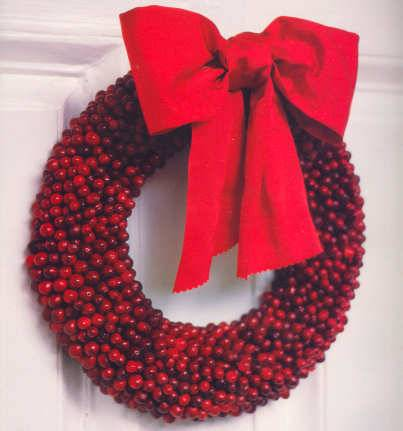 cranberrywreath