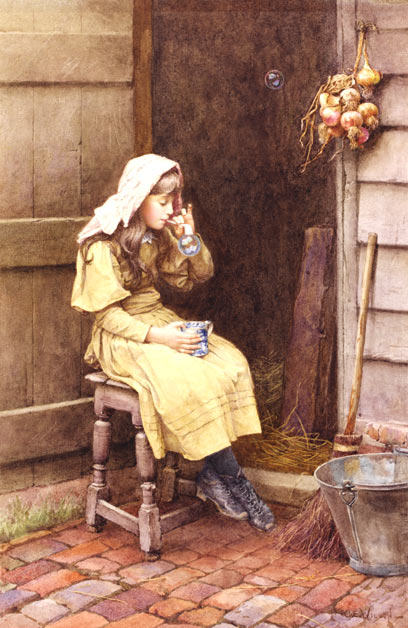 Charles Edward Wilson_Blowing Bubbles