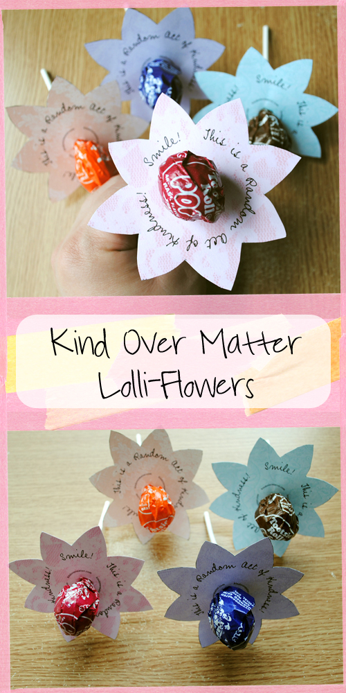 kindness lollipops