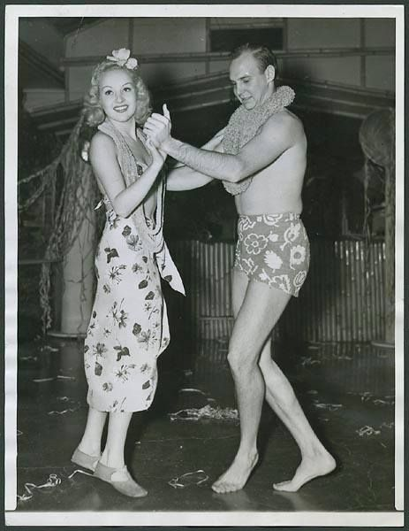 Dancing with the Stars, Jackie Coogan and Betty Grable 1938