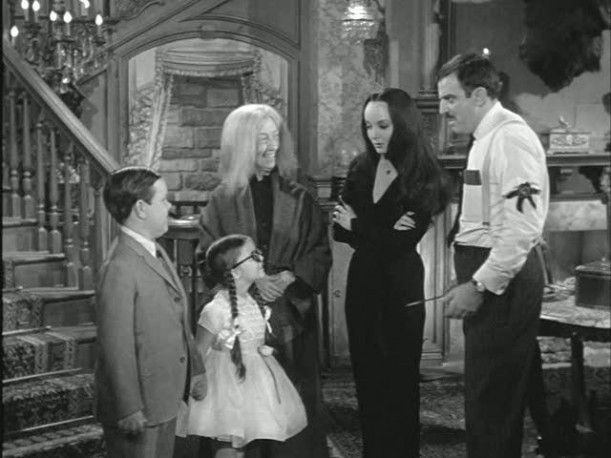 Everyday is Halloween with the Addams Family!